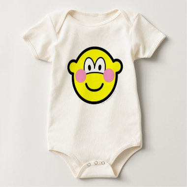 Blushing buddy icon Embarrassed  baby_toddler_apparel_tshirt