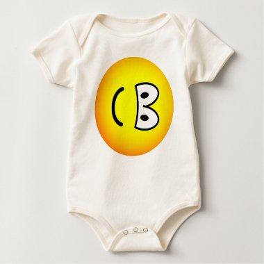Fallen over emoticon Right  baby_toddler_apparel_tshirt