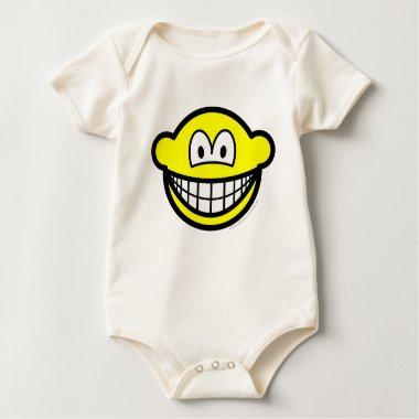 Big ears smile   baby_toddler_apparel_tshirt