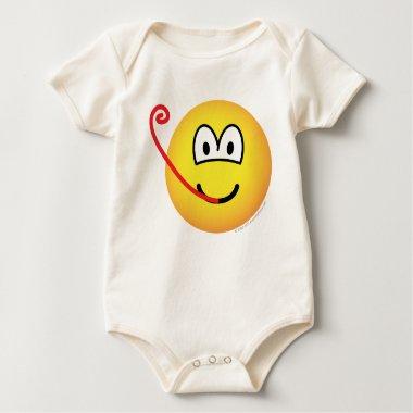 Frog emoticon   baby_toddler_apparel_tshirt