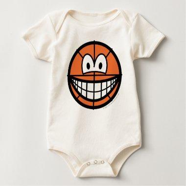 Basketball smile   baby_toddler_apparel_tshirt