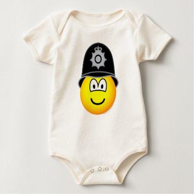 English bobby emoticon   baby_toddler_apparel_tshirt