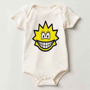 Simpson smile Lisa  baby_toddler_apparel_tshirt