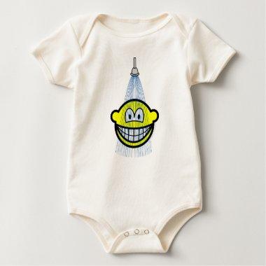Showering smile   baby_toddler_apparel_tshirt