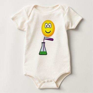 Scientist emoticon   baby_toddler_apparel_tshirt