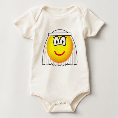 Bride emoticon   baby_toddler_apparel_tshirt
