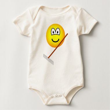 Raking emoticon   baby_toddler_apparel_tshirt