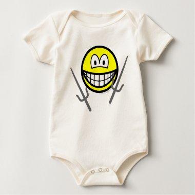 Sai smile martial arts  baby_toddler_apparel_tshirt