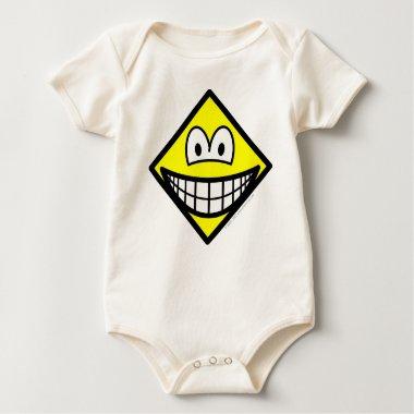 Diamond smile Shape  baby_toddler_apparel_tshirt