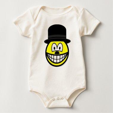 Charlie Chaplin smile   baby_toddler_apparel_tshirt