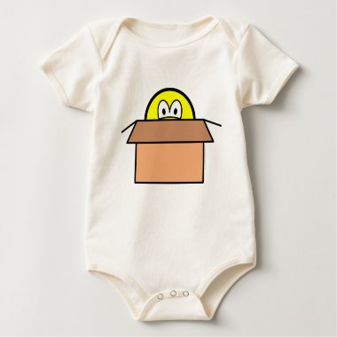 Cardboard boxed smile   baby_toddler_apparel_tshirt