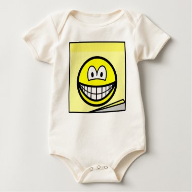 Post-it note smile   baby_toddler_apparel_tshirt