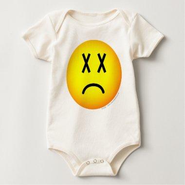 Dead emoticon   baby_toddler_apparel_tshirt