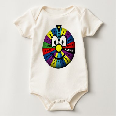 Wheel of fortune emoticon   baby_toddler_apparel_tshirt