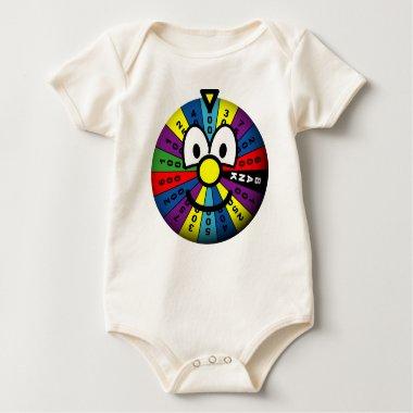 Wheel of fortune emoticon   baby_toddler_apparel_tshirt