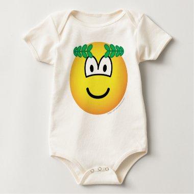 Caesar emoticon   baby_toddler_apparel_tshirt