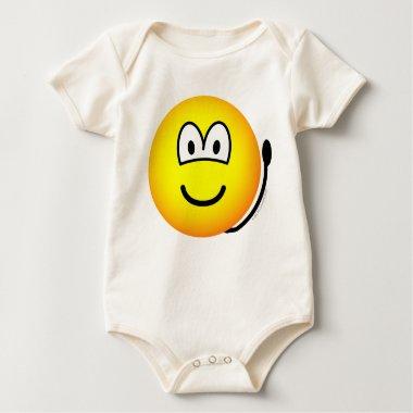 Alarm bell emoticon   baby_toddler_apparel_tshirt