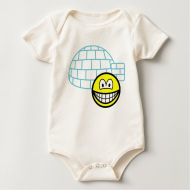 Igloo smile Building  baby_toddler_apparel_tshirt