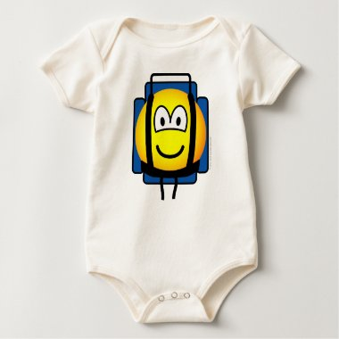 Backpacker emoticon   baby_toddler_apparel_tshirt