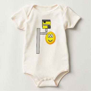 Speed camera emoticon   baby_toddler_apparel_tshirt