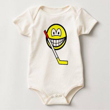 Ice hockey smile   baby_toddler_apparel_tshirt