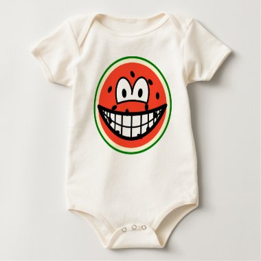 Watermelon smile   baby_toddler_apparel_tshirt