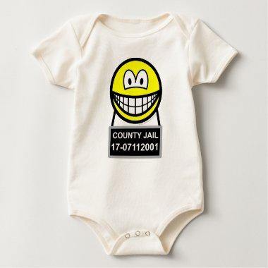 Mugshot smile   baby_toddler_apparel_tshirt