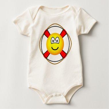Lifesaver emoticon   baby_toddler_apparel_tshirt