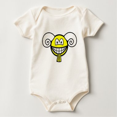 Aries smile Zodiac sign  baby_toddler_apparel_tshirt