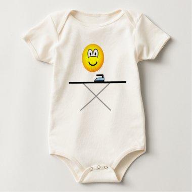 Ironing emoticon   baby_toddler_apparel_tshirt