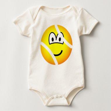 Tennisball emoticon   baby_toddler_apparel_tshirt