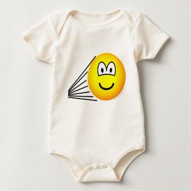 Speeding emoticon   baby_toddler_apparel_tshirt