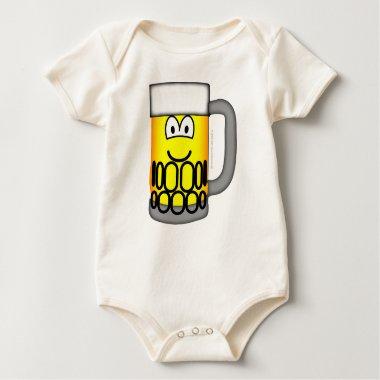 Beer pull emoticon   baby_toddler_apparel_tshirt