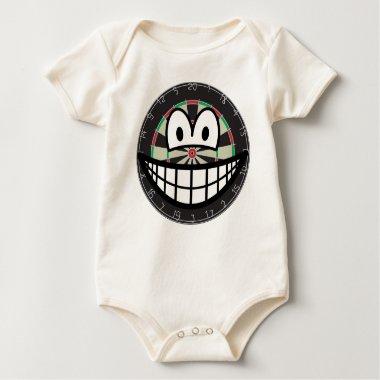 Dartboard smile   baby_toddler_apparel_tshirt