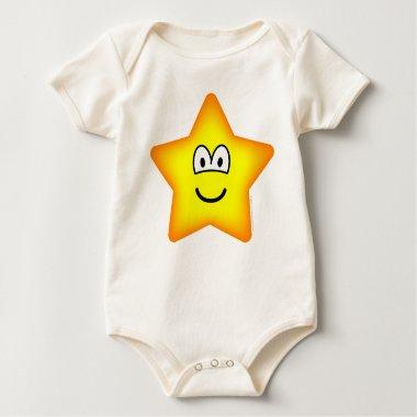 Star emoticon   baby_toddler_apparel_tshirt