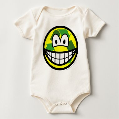 Recycle smile   baby_toddler_apparel_tshirt