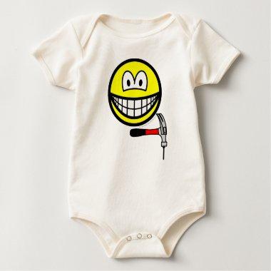 Hammer and nail smile   baby_toddler_apparel_tshirt