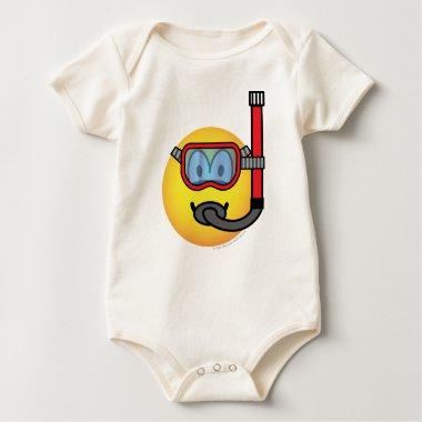 Snorkel emoticon   baby_toddler_apparel_tshirt