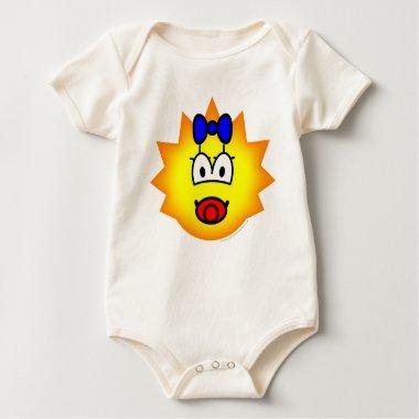 Simpson emoticon Maggie  baby_toddler_apparel_tshirt