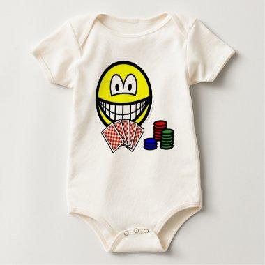 Poker smile   baby_toddler_apparel_tshirt