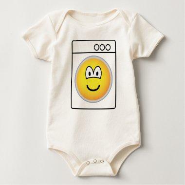 Washmachine emoticon   baby_toddler_apparel_tshirt