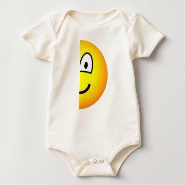Half emoticon right  baby_toddler_apparel_tshirt