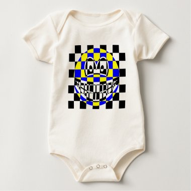 Chess board smile   baby_toddler_apparel_tshirt