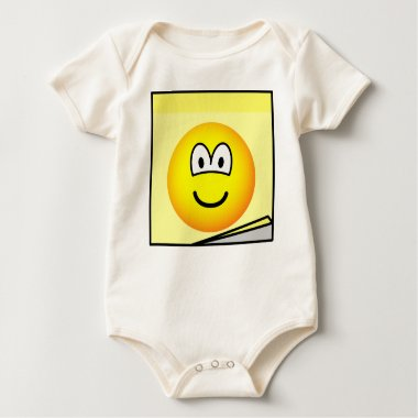 Post-it note emoticon   baby_toddler_apparel_tshirt