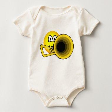 Trombone emoticon   baby_toddler_apparel_tshirt