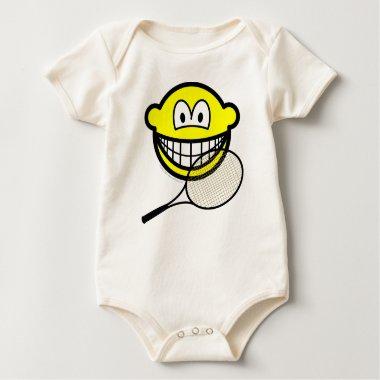 Tennis smile   baby_toddler_apparel_tshirt