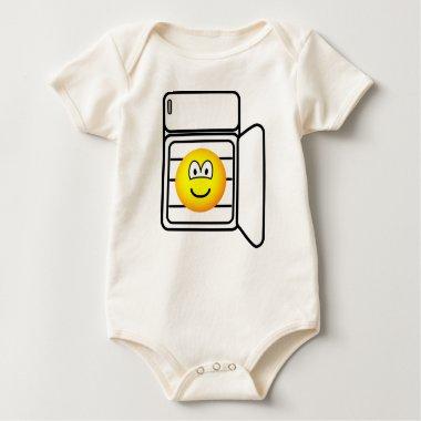 In fridge emoticon   baby_toddler_apparel_tshirt