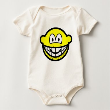 Stubbly beard smile   baby_toddler_apparel_tshirt