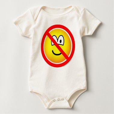 No sad emoticons   baby_toddler_apparel_tshirt