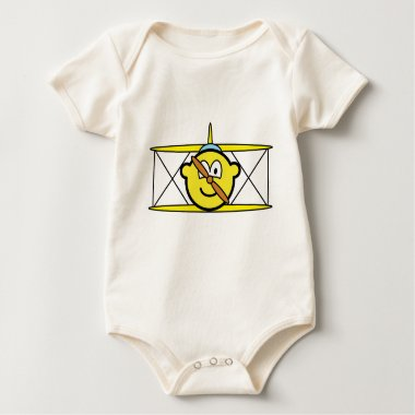 Biplane buddy icon   baby_toddler_apparel_tshirt